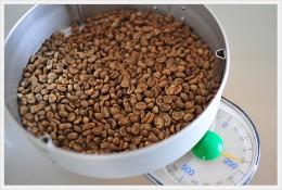 生豆の計量