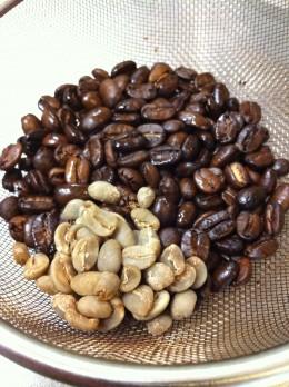 コーヒー生豆ブレンド
