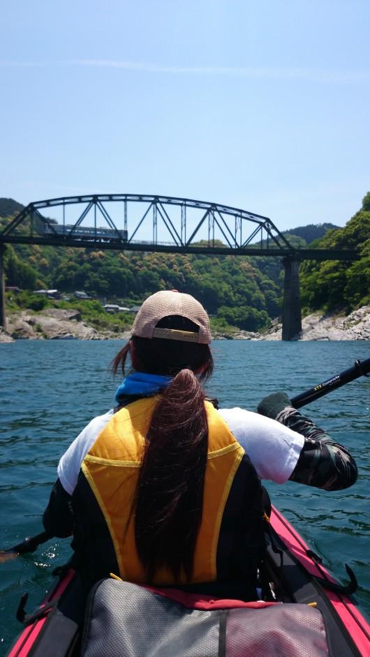 吉野川カヌー