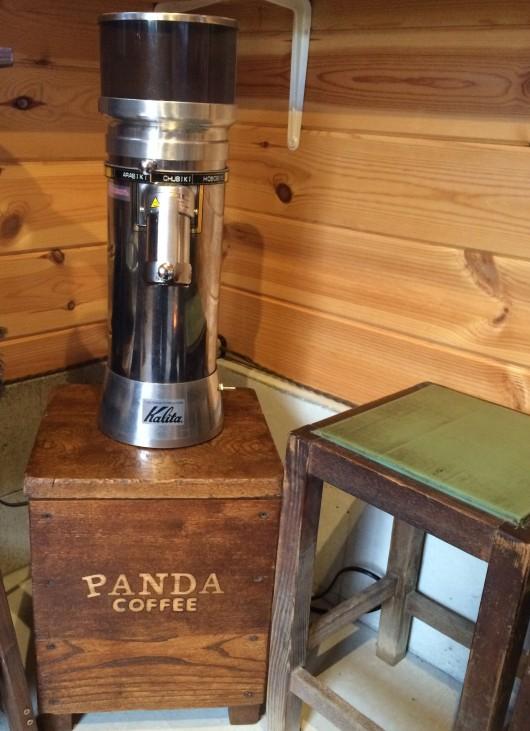 コーヒー染めの椅子2