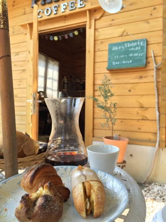ぱんだコーヒーと360°のパン
