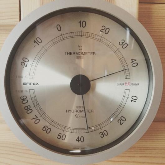 夏の焙煎中の室温