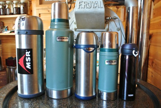 色々な水筒ポット