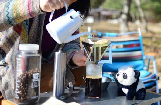 キャンプとコーヒー