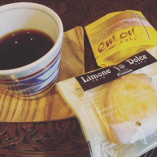 レモンケーキとのコーヒーマリアージュ